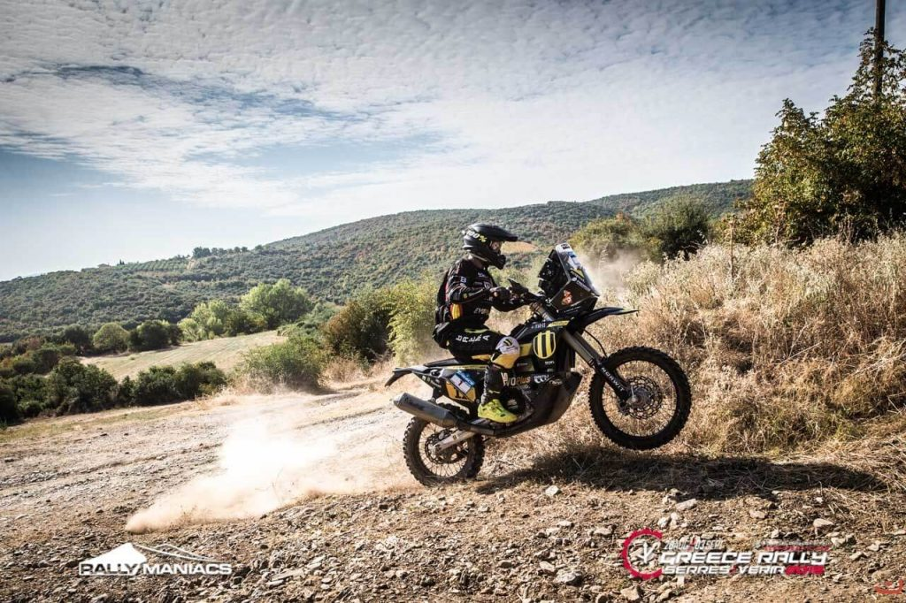 Back in the game - Serres rally